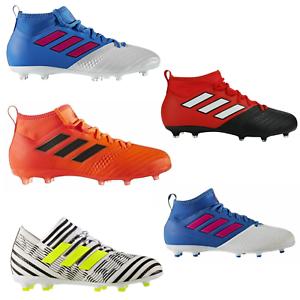 ADIDAS-Chaussures-de-Football-Juniors-Ace-nemeziz-haut-de-gamme-17-1-amp-17-3-Enfants-Livraison