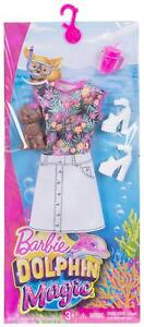NEW-Barbie-Doll-Clothes-Dress-Shoes-Dog-Drink-Dolphin-BYO-Barbeque-Set-Fashion