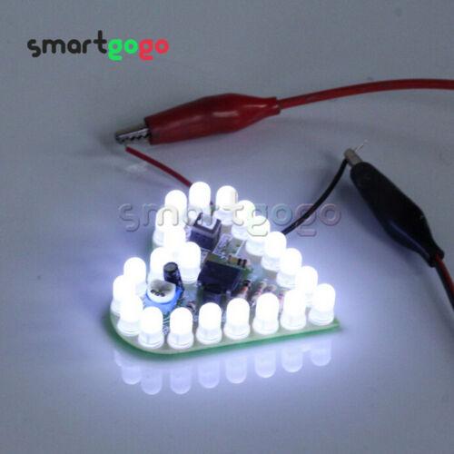 Fai DA TE forma a cuore La respirazione Lampada Kit forma elettronica Kit DC 4V-6V hotbsg