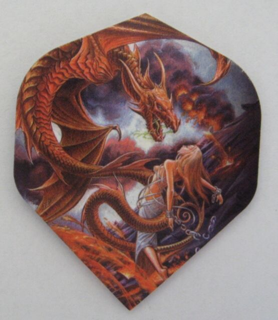 "Alchemy Extra Strong Dart Flights ""Forge of Vesuvius"""
