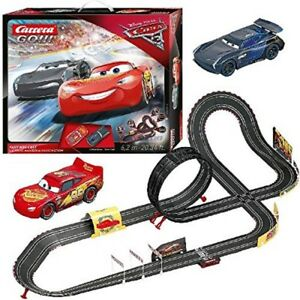 cars 3 carrera rc ir radio remote control slot car race. Black Bedroom Furniture Sets. Home Design Ideas