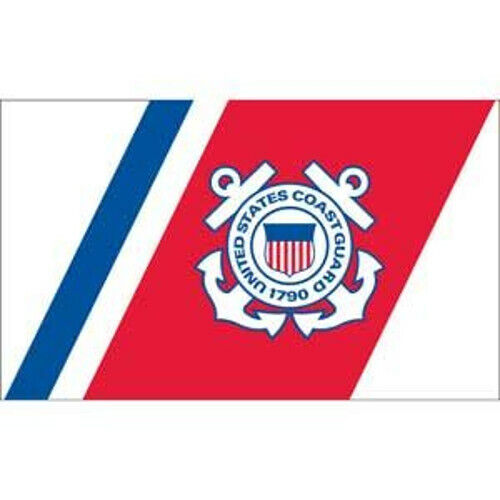 USA seller new US Coast Guard 3X5 ft FLAG superior quality Super-Polyester