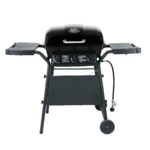 Expert Grill 3 Burner 27,000 BTU Gas Grill, Black 17 Burger Capacity Stainless