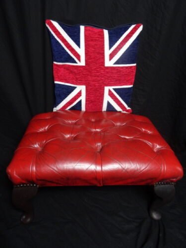 Traditional-Chesterfield-Style-Fine-Leather-Oxblood-Red-Footstool