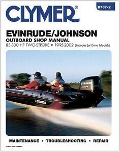 clymer 250 hp johnson evinrude outboard motor shop repair service rh ebay com Haul-Master Utility Vehicle Repair Manual Haul-Master Utility Vehicle Repair Manual