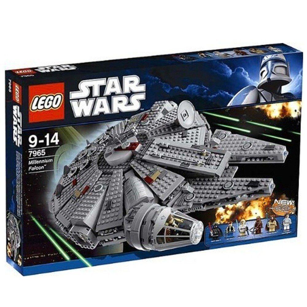 LEGO  7965 estrella guerras millenium Falcon  80% di sconto