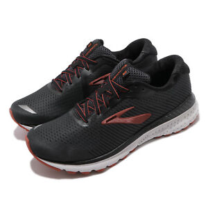 Brooks-Adrenaline-GTS-20-2E-Wide-Black-Red-Men-Running-Shoes-Sneakers-110307-2E