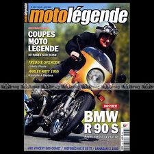 MOTO LEGENDE N°159-c BMW R90 S MOTOBECANE D55 TT HRD-VINCENT 500 KAWASAKI Z 1000