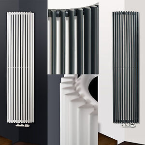 agadon corner vertical triangular tube designer radiator. Black Bedroom Furniture Sets. Home Design Ideas