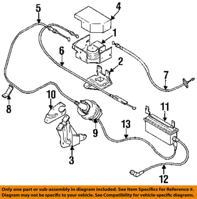 Chrysler Oem Cruise Control System Vacuum Hose Harness 4591290ab For
