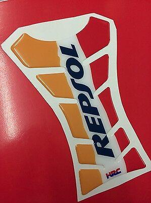 Paraserbatoio Resinato Sticker 3D REPSOL Hrc Vertcial