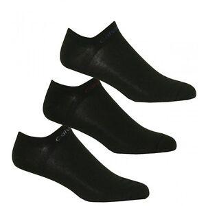 Calvin-Klein-3-Pack-Coolmax-Sport-Sneaker-Socken-schwarz