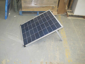 Coleman 80 Watt 12 Volt Crystalline Solar Panel With Stand
