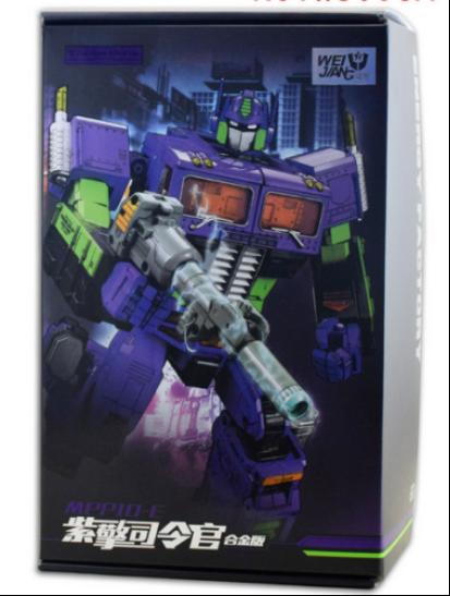 NUOVO, giocattoli di deformazione MPP10 Eva in lega versione ingrandita di Optimus Prime