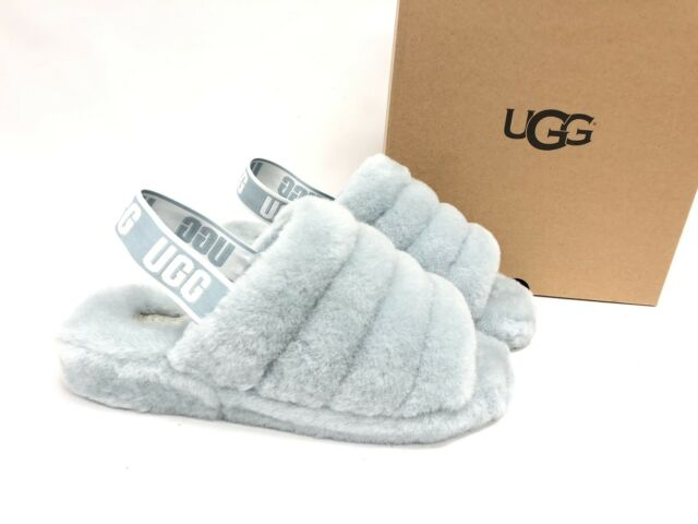 7a17698d52a UGG Succulent Fluff Yeah Slide Sheepskin SLIPPER Sandals US 7/ EUR 38