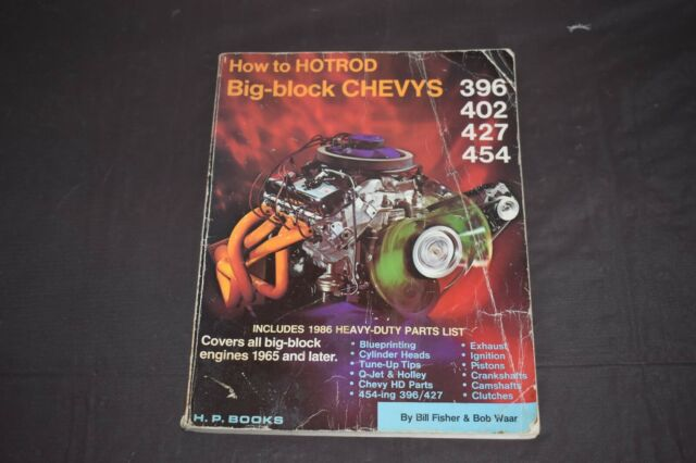 How To Hotrod Big Block Chevy U0026 39 S 396 402 427 454 1965