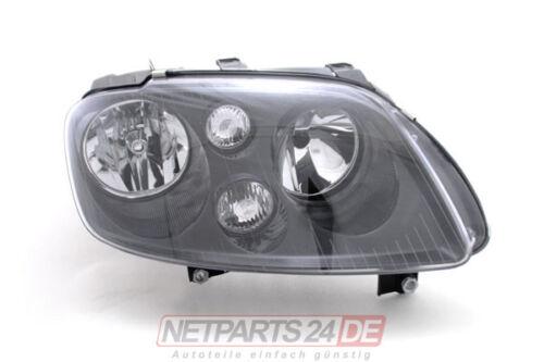 Schwarz VW Touran 1T 03-06 H7//H7 re Scheinwerfer mit Motor für LWR Frontschein