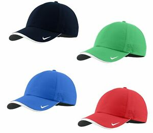 Nike-Dri-FIT-Swoosh-Perforated-Hat-Mens-Adjustable-Cap-429467-Choose-a-Color