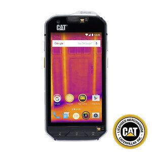 Cat-S60-Rugged-Waterproof-Black-Smartphone-32GB-Factory-Unlocked-Thermal-Imaging
