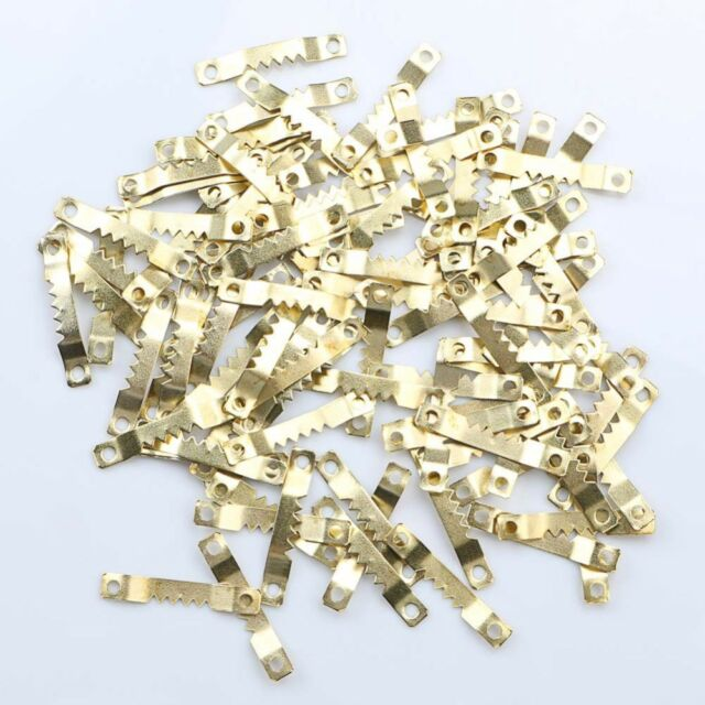 100pcs Saw Tooth Hangers Oil Painting Picture Frame Hooks Hanging 41