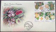 M'sia FDC Malaysian fruits 17.7.2014