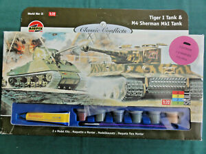 Details about 1/72 WWII Airfix Panzer & Tank Battle Set