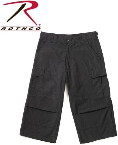 Army Camo Capris Long Cargo Shorts Military Army Fatigues Tactical 3//4 BDU Pants