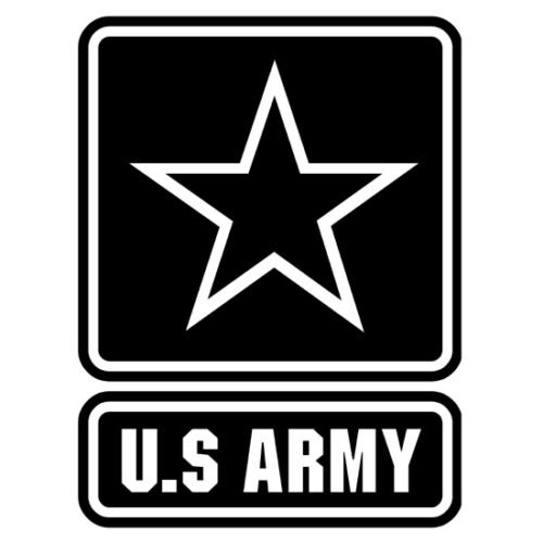 US Army Military Armed Forces Logo Emblem Vinyl Decal Sticker V2