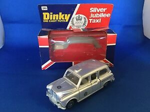 Dinky-Toys-no-241-Silver-Jubilee-Taxi-ovp