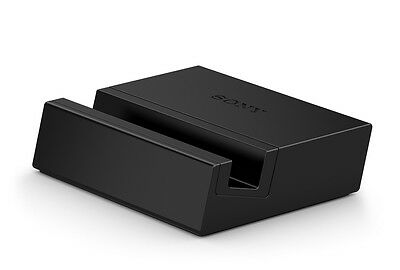 GENUINE SONY XPERIA Z3 & Z3 COMPACT MAGNETIC DESKTOP CHARGING DOCK DK48 BLACK