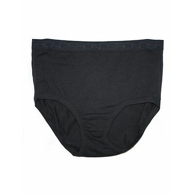 NEW Bonds 'Cottontails' Basic Full Brief 11762 Black