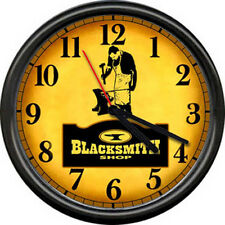 Retro Blacksmith Anvil Tools Art Sign Wall Clock #83