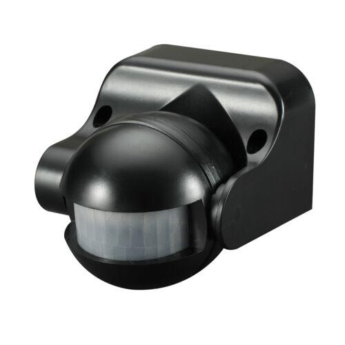 Knightsbridge IP44 180 ° PIR Capteur Noir x1