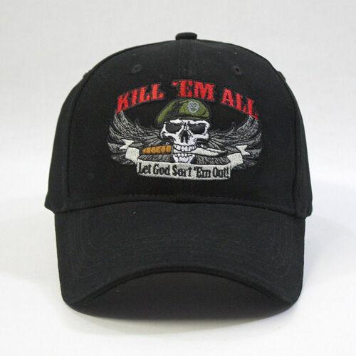 Kill /'Em All Brushed Cotton Low Profile Adjustable Baseball Cap