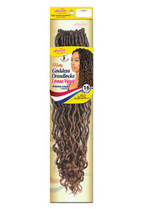 Crochet Hair Braid Natty Goddess Loc Dreadlocks Locs Loose