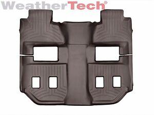 1st//2nd Row WeatherTech Floor Mats FloorLiner for Suburban//Yukon XL Black