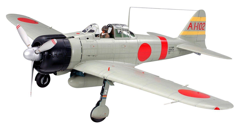 Tamiya 1 32 Mitsubishi A6M2b Zero Fighter Model 21 Zeke Model Kit