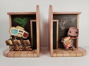Little-Big-Planet-2-Collector-039-s-Edition-Promotional-Bookends-Sackboy-Sony-2010