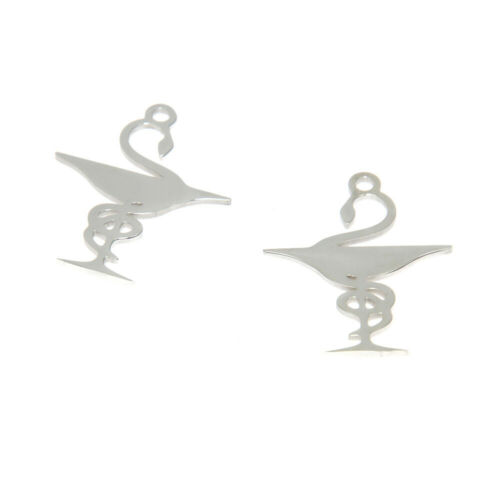 5pcs Bowl of Hygieia Symbol charm Pharmacy Chalice with a Snake pendant 28x22mm