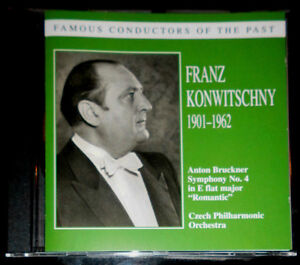 FRANZ-KONWITSCHNY-BRUCKNER-SYMPHONY-No-4-FAMOUS-CONDUCTORS-OF-THE-PAST-CD