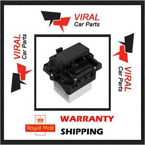 Riscaldatore-Blower-Motore-Ventilatore-Resistore-6-PIN-si-adatta-MEGANE-SCENIC-TRAFIC-VIVARO-NV400