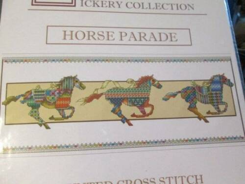 Vickery Collection Animal Parade Cross Stitch Chart Your Choice
