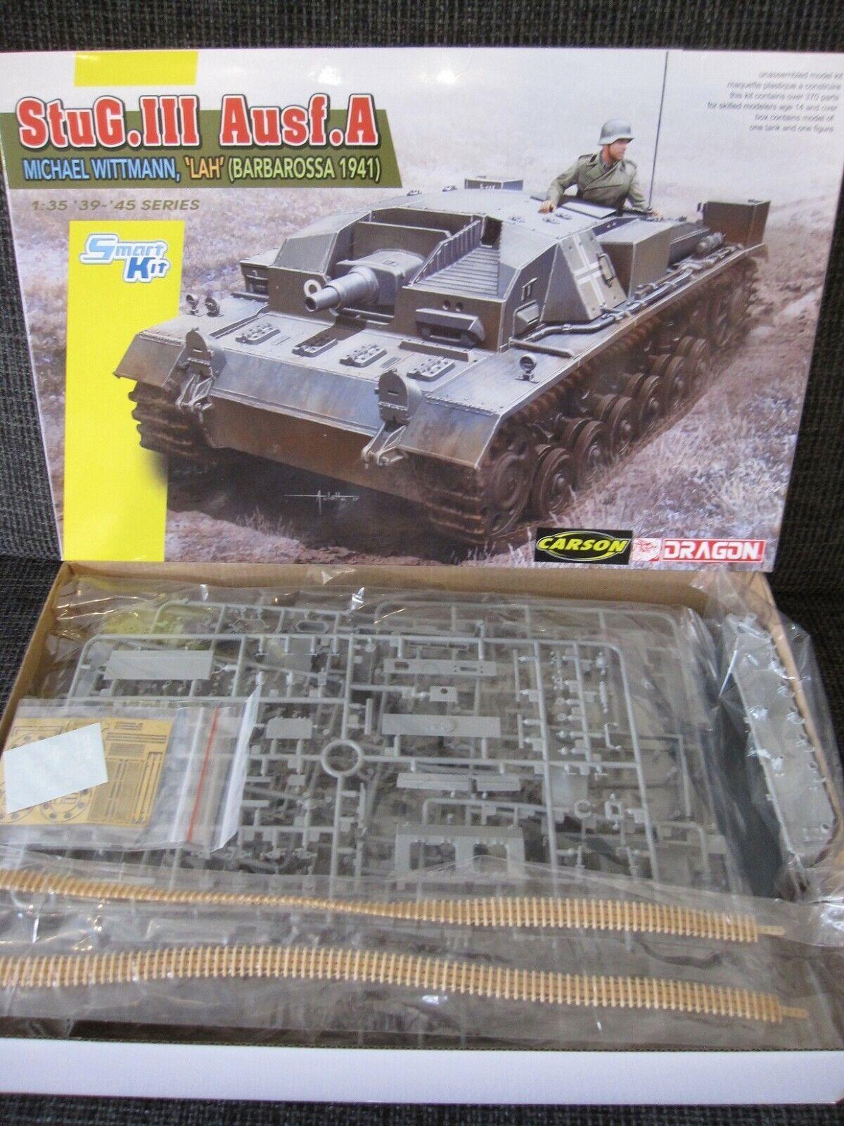 StuG. III Ausf. A Michael Wittmann Barbarossa 1941 von von von Dragon Maßstab 1 35 NEU  | Die Farbe ist sehr auffällig  aea464