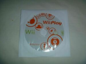 Wii-Play-2007-Nintendo-Game-Disc-Only-Good-Condition-No-Case-Or-Manual