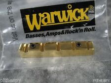 NEW WARWICK BRASS JUST A NUT III 5S 5 STRING BASS THUMB CORVETTE STREAMER ALIEN