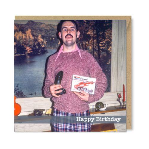 Funny Weird Strange Vintage Retro Birthday Card Nostalgic Gifts /& Fashion 1970s