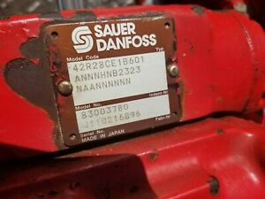 SAUER DANFOSS HYDRAULIC PUMP 42R28 SERIES 8 available