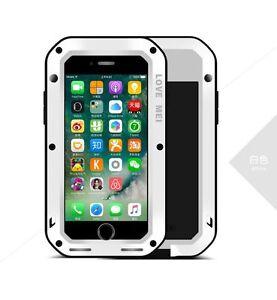 Coque-iPHONE-7-plus-LOVE-MEI-FRANCE-antichoc-et-etanche-Blanc