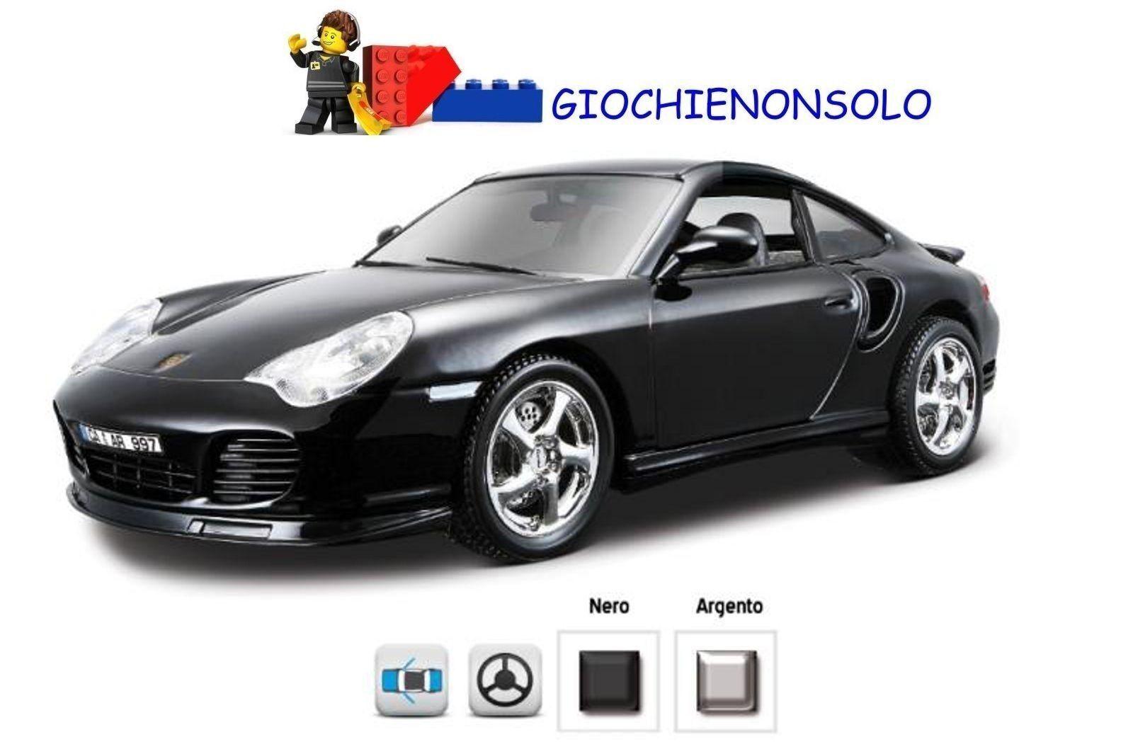 BBURAGO BBURAGO BBURAGO 12030 - PORSCHE 911 TURBO 1-18 7b45c5