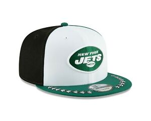low priced 40e76 7e0f3 Image is loading New-York-Jets-New-Era-2019-NFL-Draft-
